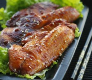 酱烤鲷鱼片