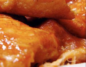 蜜汁烤三文鱼